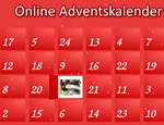Adventskalender mit animierten Türchen